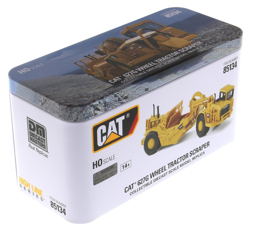 Caterpillar 627G Wheel Tractor Scraper HO Series Vehicle
