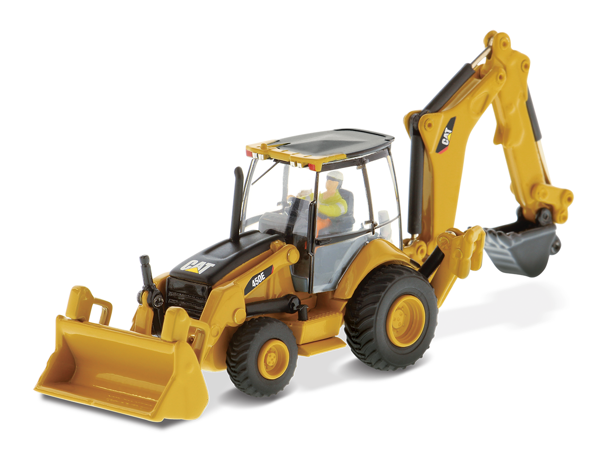 450E Backhoe Loader