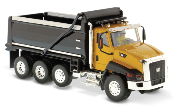 CT660 Dump Truck - Yellow and Black