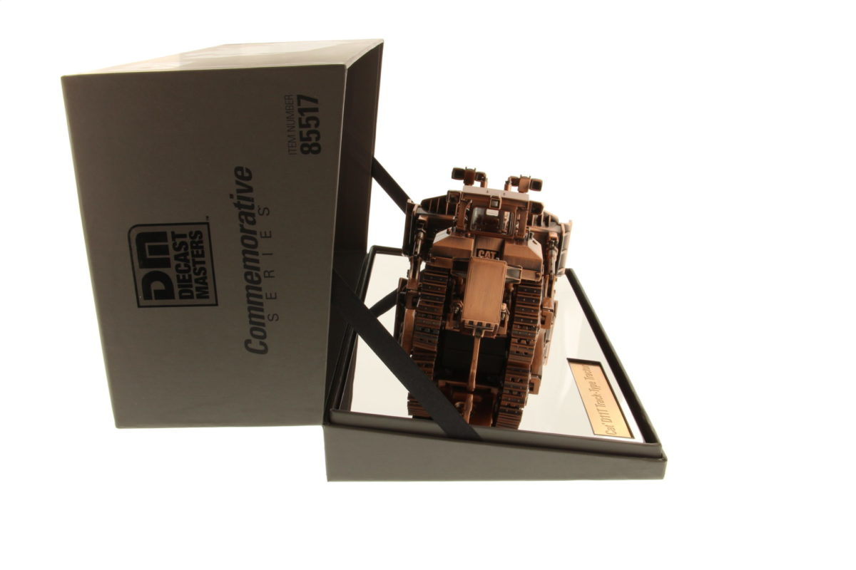 D11T Track-Type Tractor - Copper Finish