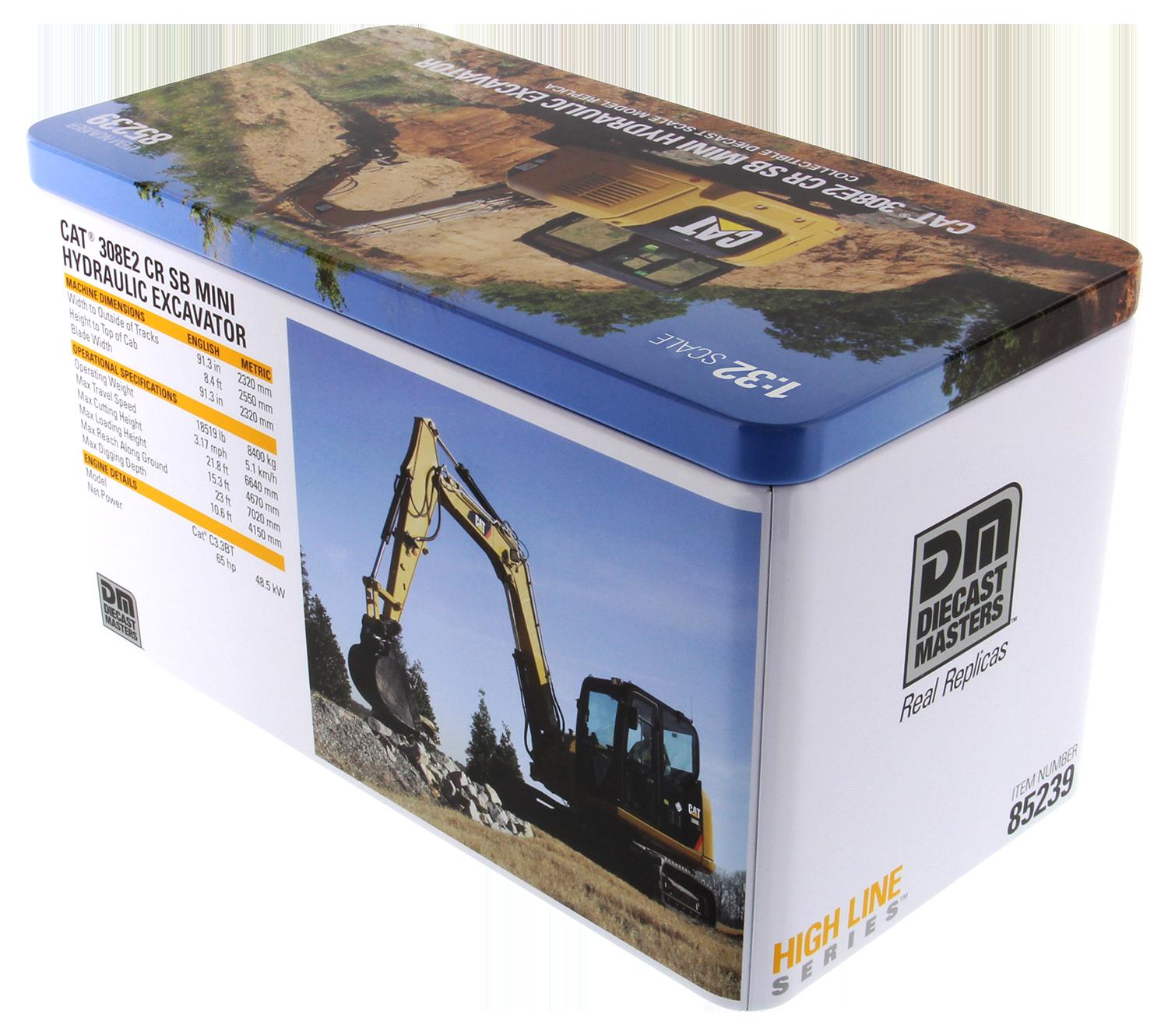 308E2 CR SB MiniHydraulic Excavator